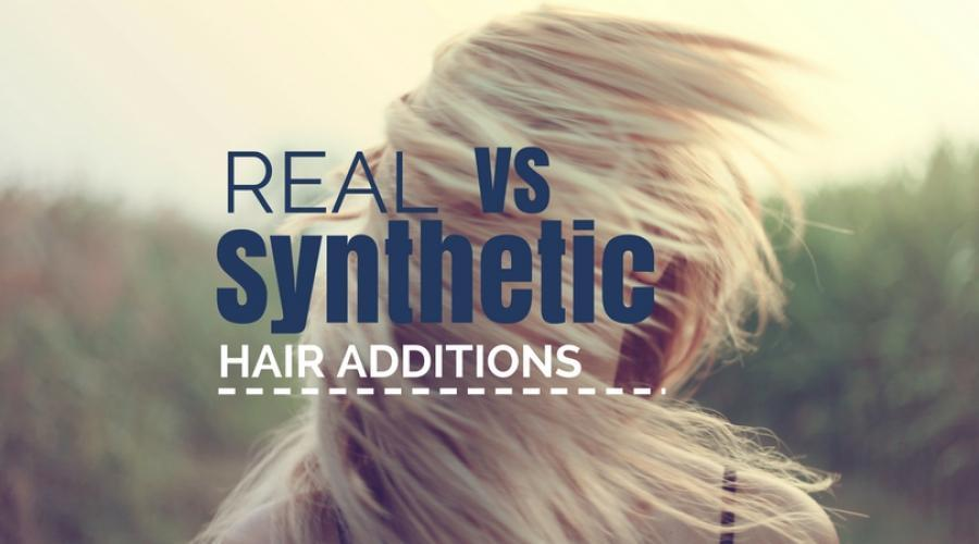 Human vs. Synthetic Hair Additions